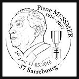Oblitération 1er jour à Strasbourg et Saint-Gildas-de-Rhuys (56) le vendredi 11 et samedi 12 mars 2016