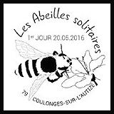 Oblitération 1er jour à Paris, Nantes, Bourges, Hirsingue, Valence, Coulonge-sur-l'Autize le 20 et 21 mai 2016