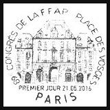 Oblitération 1er jour à Paris au Carré d'Encre et au salon Philex le samedi 21 mai 2016