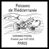 Oblitération 1er jour à Paris au Carré d'Encre le samedi 9 juillet 2016
