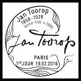 Oblitération 1er jour à Paris au Carré d'Encre vendredi 19 et samedi 20 février 2016