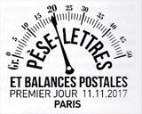 Oblitération 1er jour à Paris au Carré d'Encre, le 11 novembre 2017 et au Salon philatélique d'automne, Espace Champerret Hall A du 9 au 12 novembre 2017