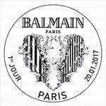 Oblitération 1er jour à Paris au Carré d'Encre le 20 et 21 janvier 2017