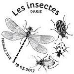Oblitération 1er jour à Paris au Carré d'Encre le 19 et 20 mai 2017
