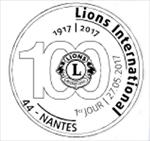 Oblitération 1er jour à Paris au Carré d'Encre et à Nantes le 27 mai 2017