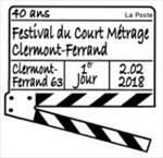 Oblitération 1er jour à Paris au carré d'Encre et du 2 au 4 février à Clermont-Ferrant 2018