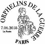 Oblitération 1er jour à Paris au carré d'Encre et au salon PARIS PHILEX 2018, Paris expo, Porte de Versailles le 7-8-9 juin 2018