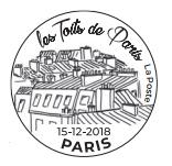 Oblitération anticipée au Carré d'Encre dès le 15 décembre 2018  puis par correspondance auprès de Phil@poste