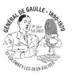 Oblitération 1er jour à Paris au carré d'Encre 3 bis rue des Mathurins, 75009 PARIS le 5 novembre 2020