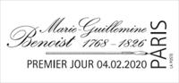 Oblitération 1er jour à Paris au carré d'Encre le 7 février 2020