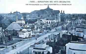 Type Sage 5F - Exposition internationale des arts décoratifs à Paris