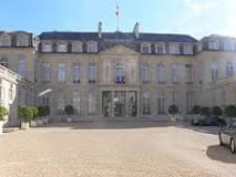 Palais de l'Elysée à Paris