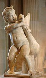 Croix rouge «l'enfant à l'oie» d'après Boéthos